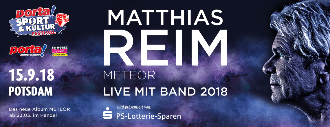 MATTHIAS REIM OPEN AIR 2018