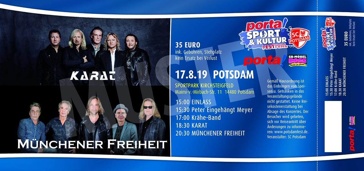 Tickets Potsdam Open Air